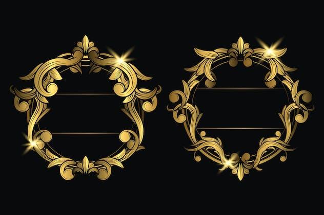 Ornament badges