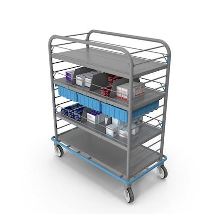 Medical Supply Cart