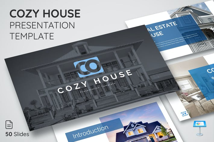 Thumbnail for Cozy House - Keynote Presentation Template
