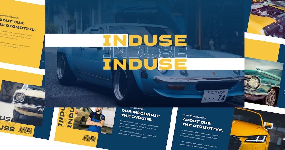 Download INDUSE Keynote Template by axelartstudio
