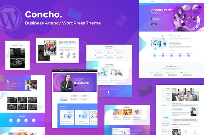Thumbnail for Concho - Consulting Service WordPress Theme