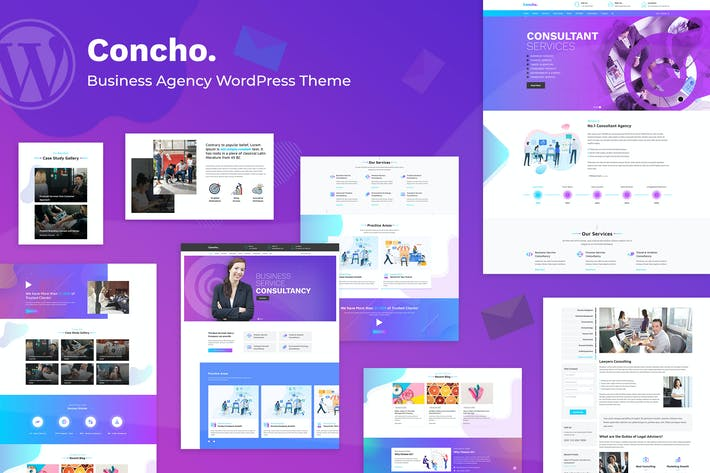 Concho - Consulting Service WordPress Thema