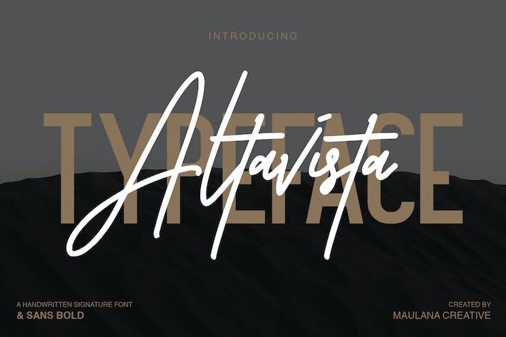 Thumbnail for Altavista Font Duo