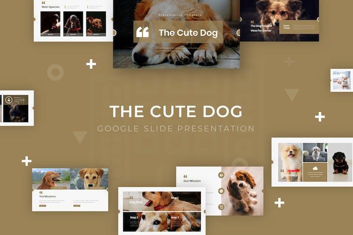 Thumbnail for The Cute Dog - Google Slide Template