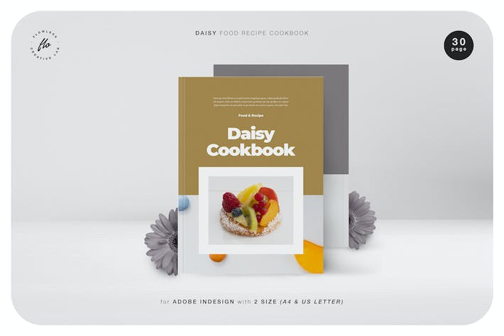 Thumbnail for Daisy Food Recipe Cookbook