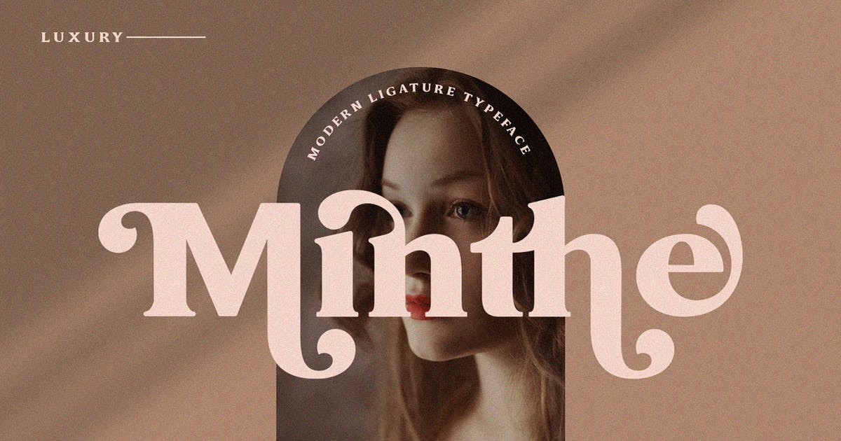 Download Minthe - Serif Font by Graphicxell