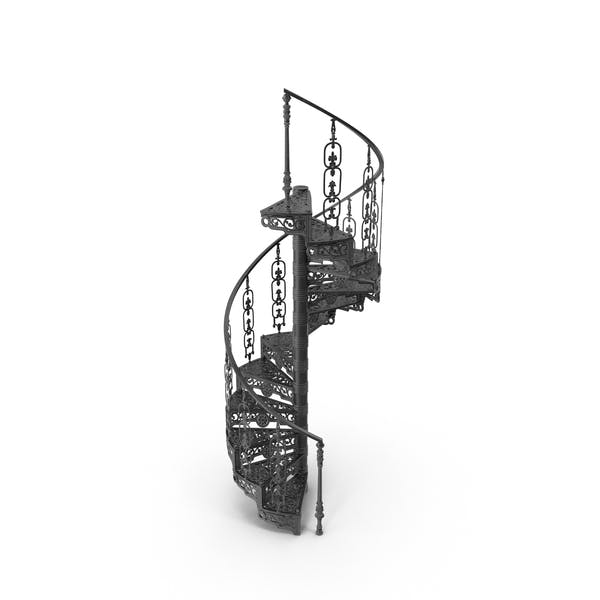 Thumbnail for Victorian Forged Spiral Stair