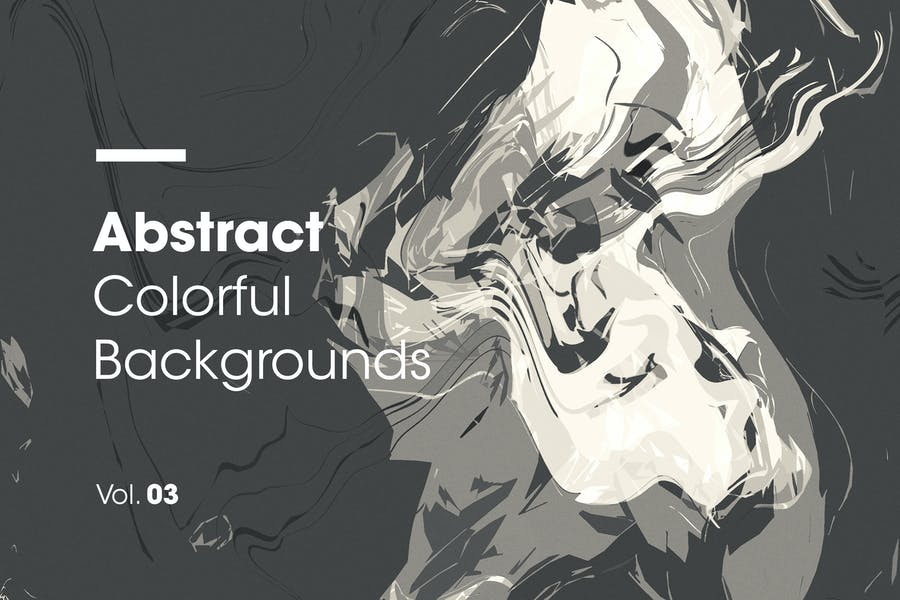 Abstract Colorful Spiral Backgrounds   Vol. 03