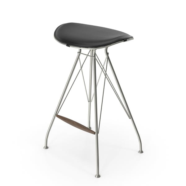Wire Bar Stool Low