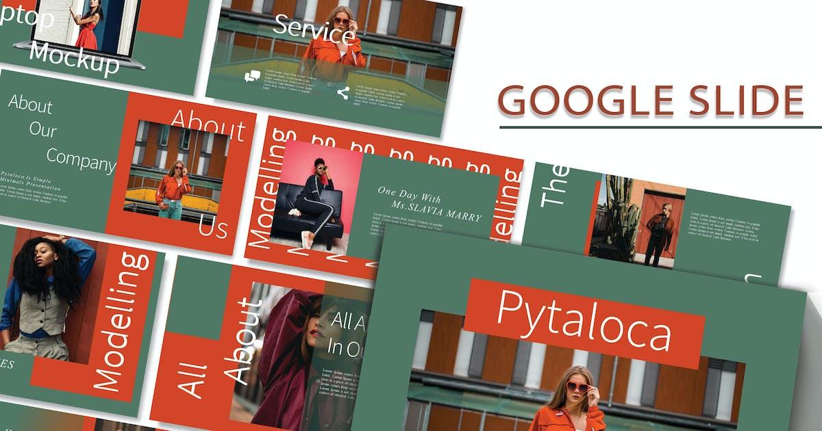 Download PYTALOCA - Fashion Google Slide Template by joelmaker