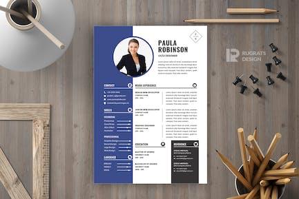 CV  Resume R56 Template