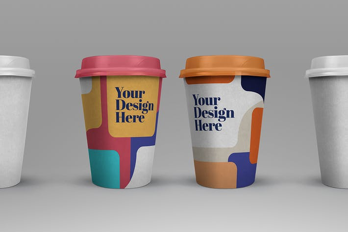 Thumbnail for Take out Cup Coffee Mockup