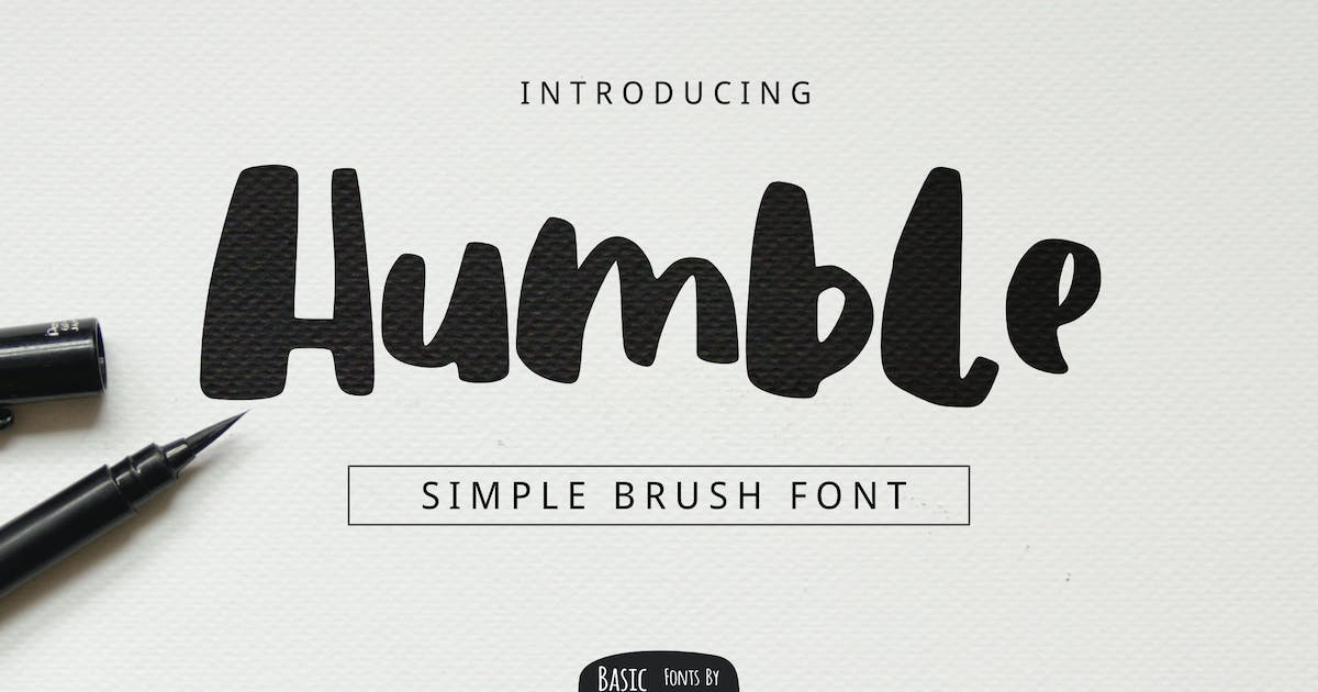 Download Humble Brush Font by yandidesigns