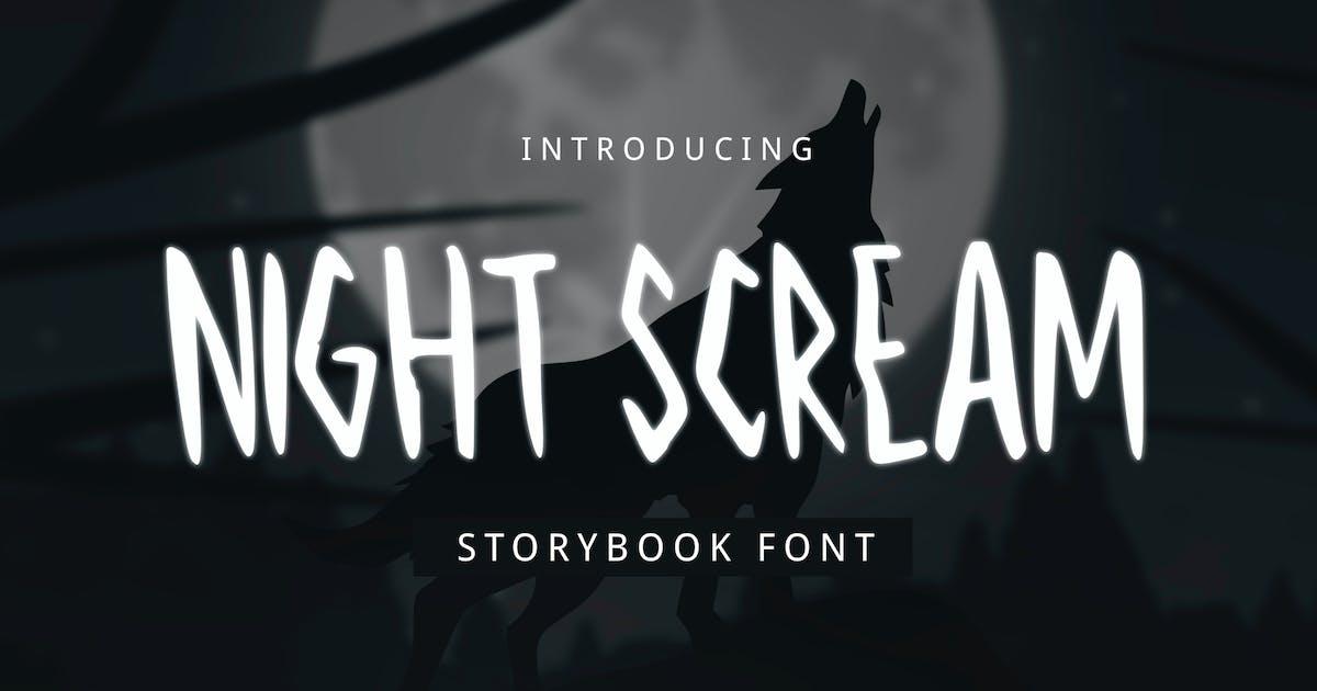 Download Night Scream Font by yandidesigns