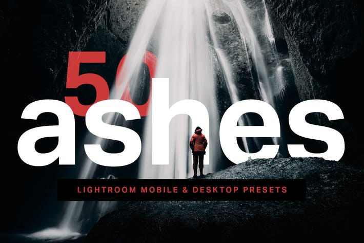 Thumbnail for 50 Ashes Lightroom Presets and LUTs