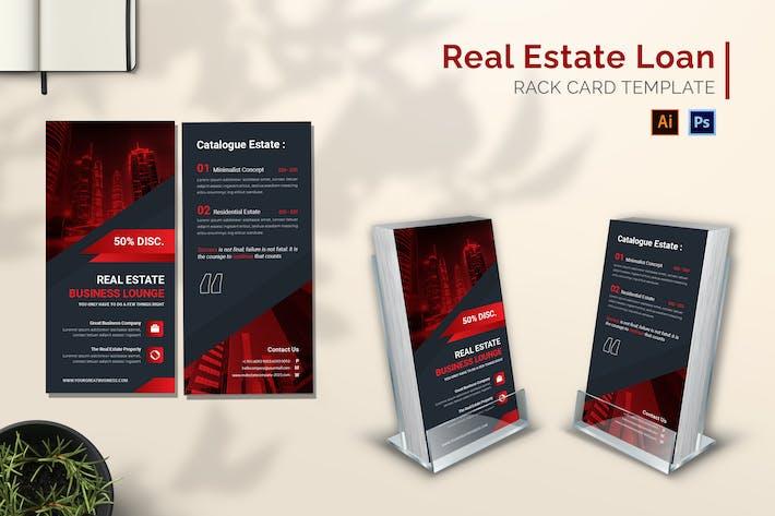 Real Estate Loan Rack Card