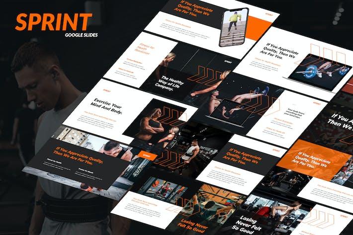 Thumbnail for Sprint - Health & Fitness Business Google Slides
