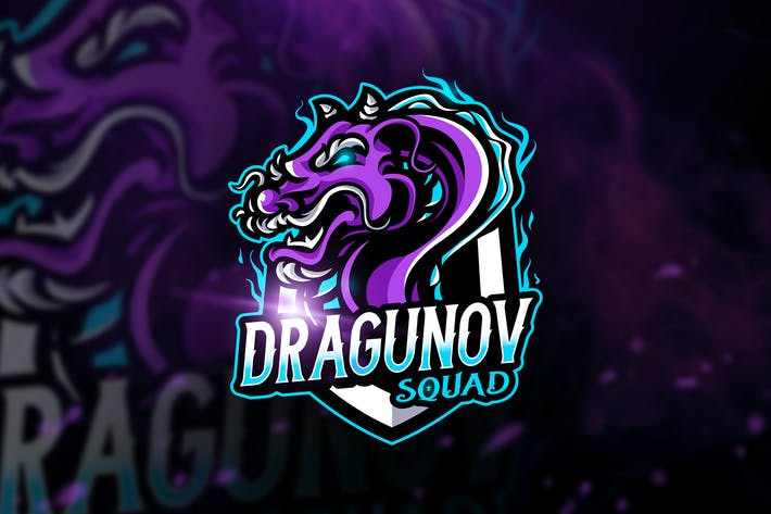 Thumbnail for Dragunov Squad - Macot & Esport Logo