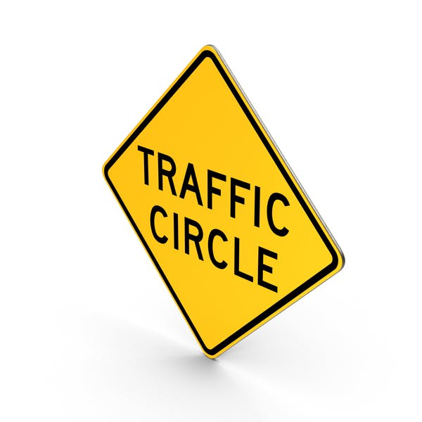 Cover Image for Traffic Circle Sign