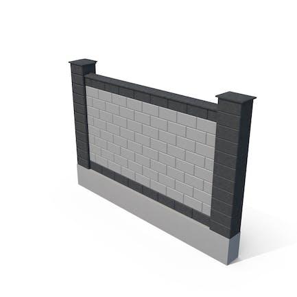 Brick Fence