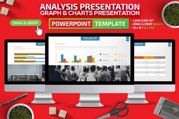 Thumbnail for Analysis Powerpoint Presentation Template