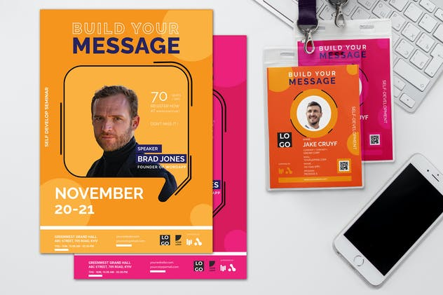 Build Your Message - Seminar Invitation