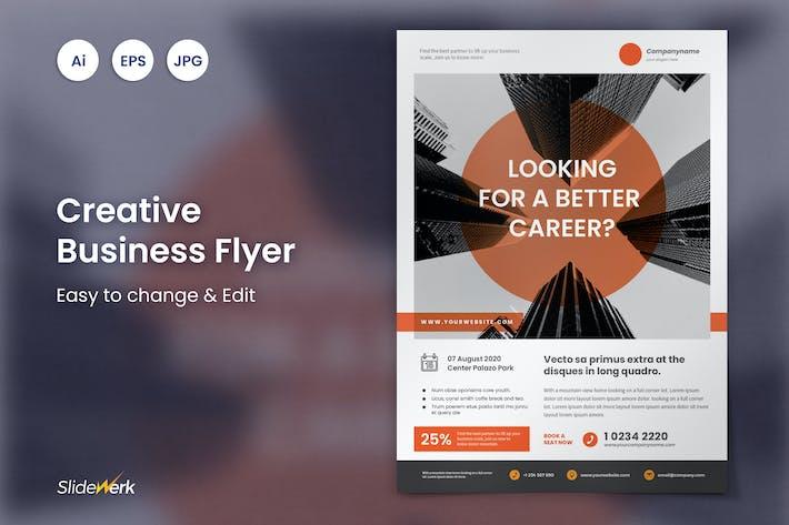 Thumbnail for Business Flyer Template 20 - Slidewerk