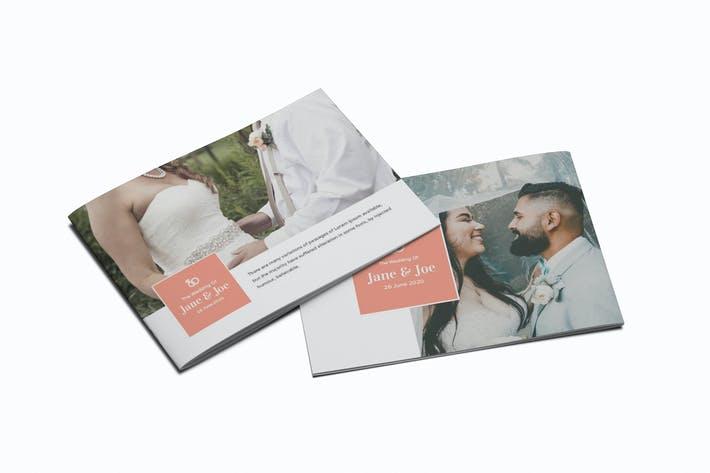 Thumbnail for The Wedding A5 Brochure Template