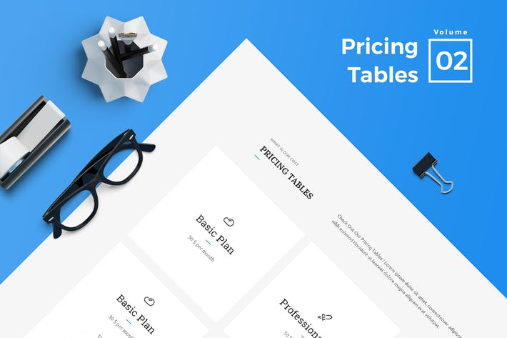 Thumbnail for Pricing Tables for Web Vol 02