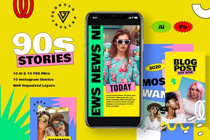 Thumbnail for 90 Stories Social Media Story