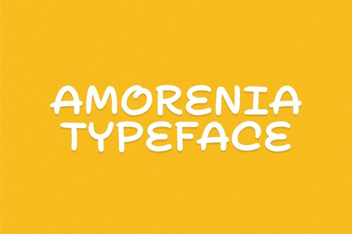Thumbnail for Amorenia Typeface