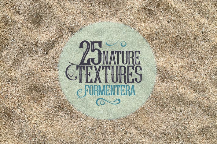 Thumbnail for 25 Nature Textures in Formentera