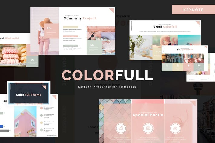 Thumbnail for Colorfull  - Keynote Template