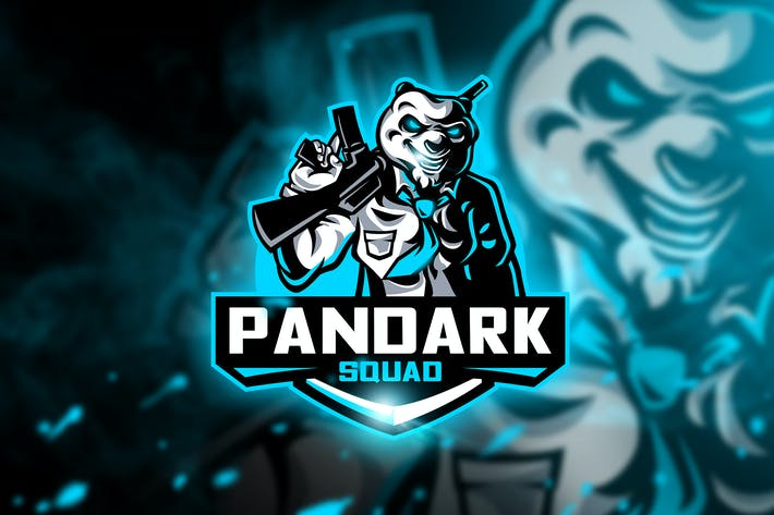 Thumbnail for Pandark Squad - Mascot & Esport Logo