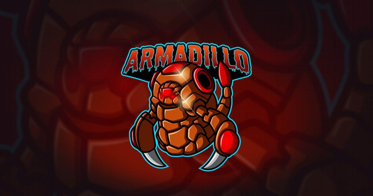 Download Armadillo - Mascot & Esport Logo by aqrstudio