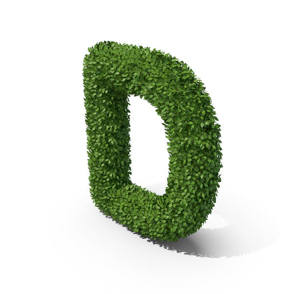 Thumbnail for Hedge Shaped Letter D