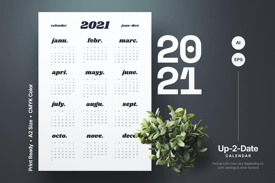 Calendar Design 2021
