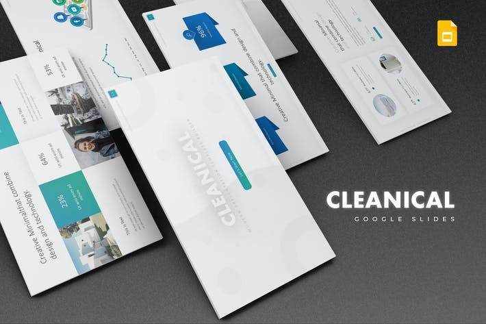 Cover Image For Cleanical Google Slides Template
