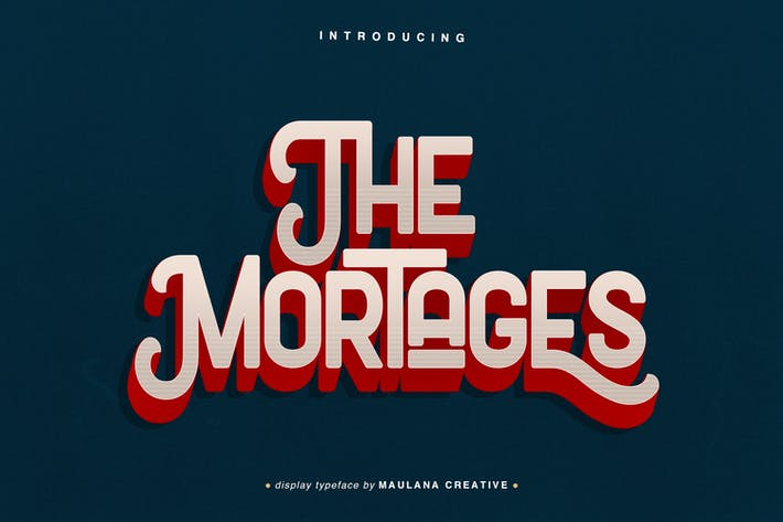 Thumbnail for The Mortages - Afficher la police