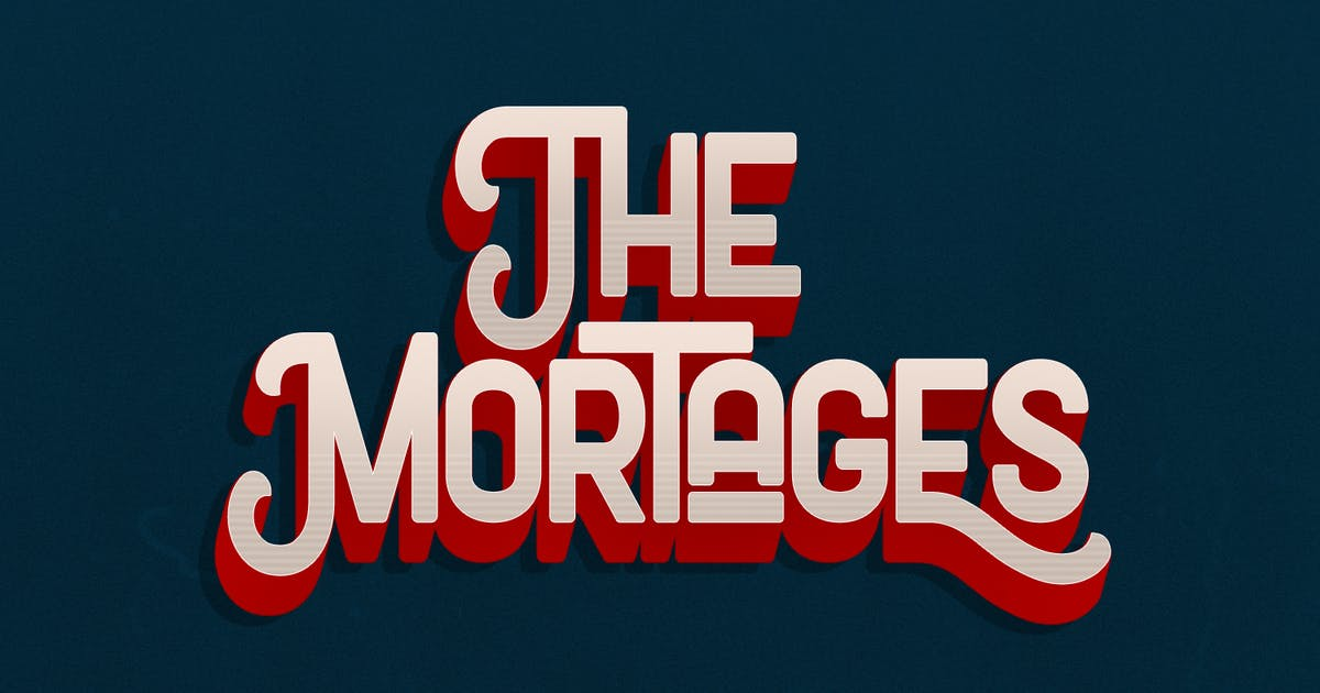 Download The Mortages - Display Font by maulanacreative