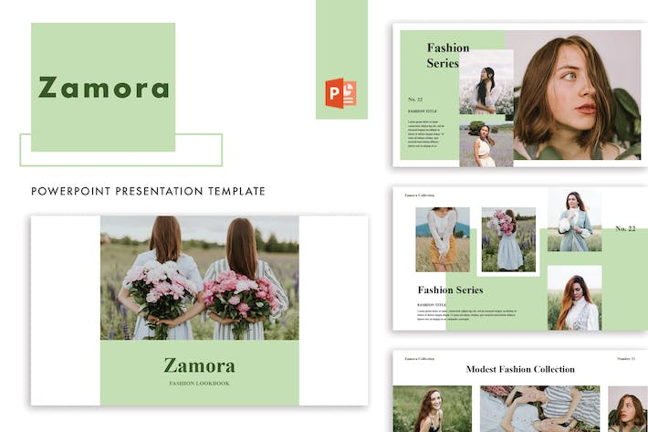 Thumbnail for Zamora powerpoint Template