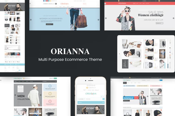 Thumbnail for Orianna - Responsive WooCommerce Fashion Theme