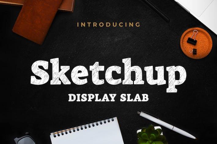 Sketchup - Losa de visualización de Sketch