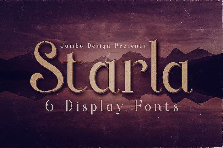 Thumbnail for Starla - Display Font