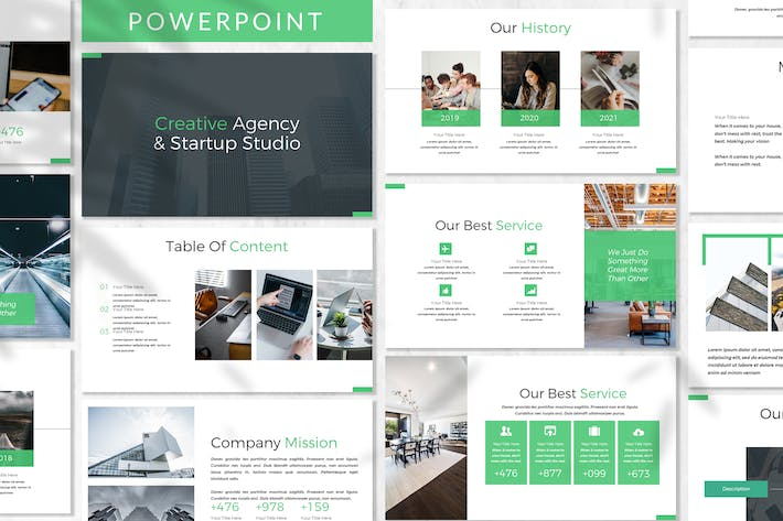 Thumbnail for Donke - Business Powerpoint Template