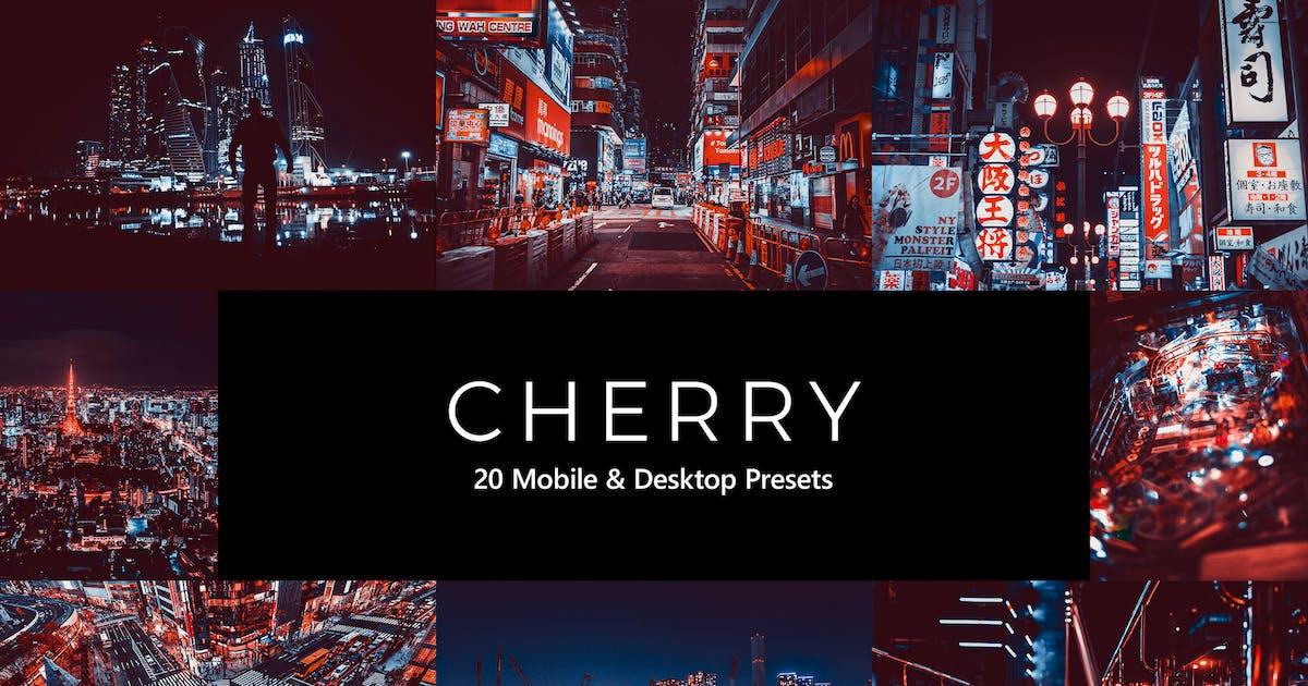 Download 20 Cherry Lightroom Presets & LUTs by sparklestock