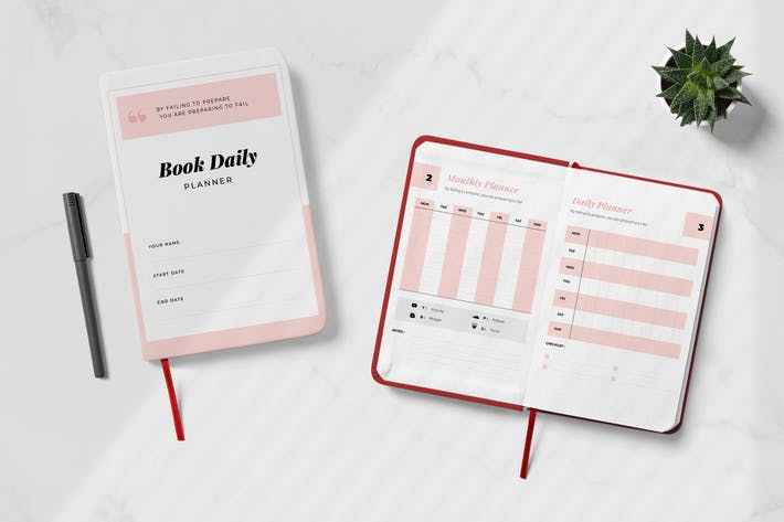 Thumbnail for Daily Creator Planner Book Vol.02
