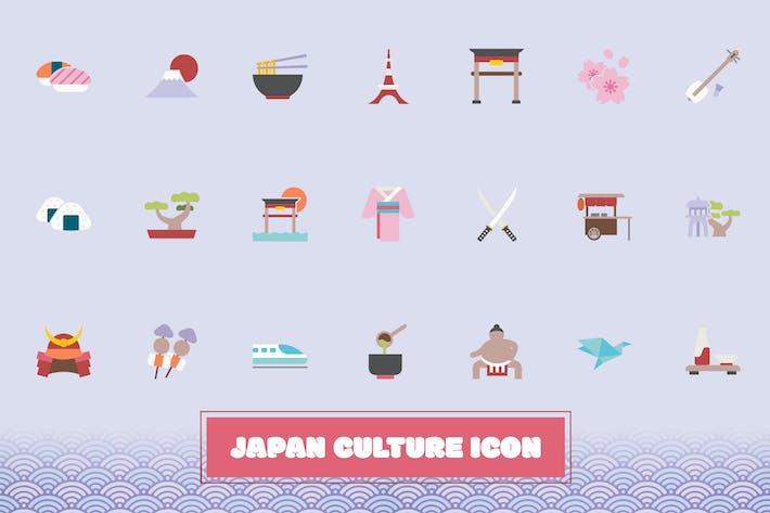 Japanische Kultur-Symbol