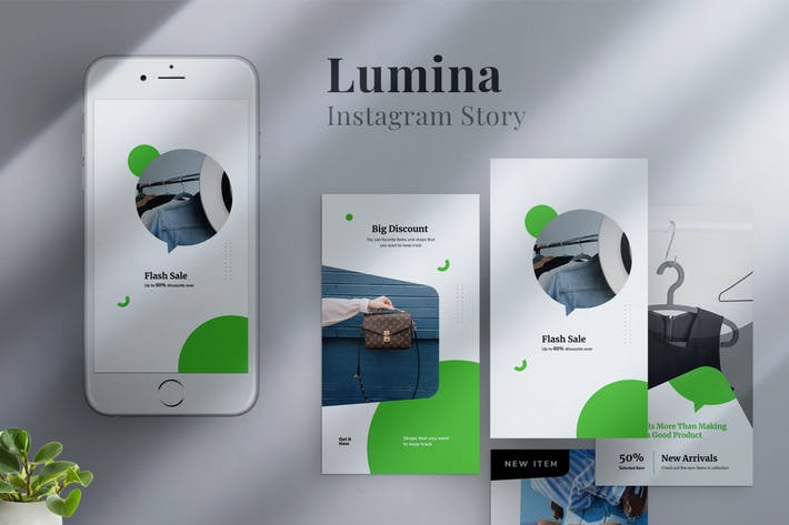 Thumbnail for Lumina - Instagram Story Template 01