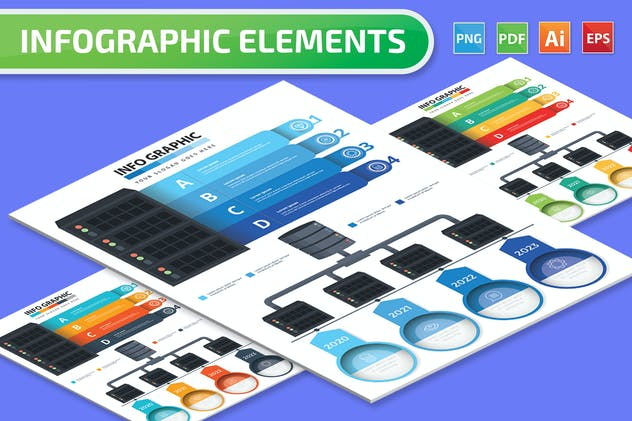Database Infographics Elements - product preview 4